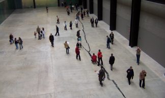 'Shibboleth' by Doris Salcedo, Tate Modern Turbine Hall - Loz Pycock
