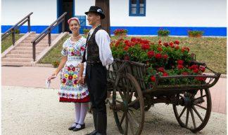 Folklore in Kalocsa, Hongarije ... - Martha de Jong-Lantink