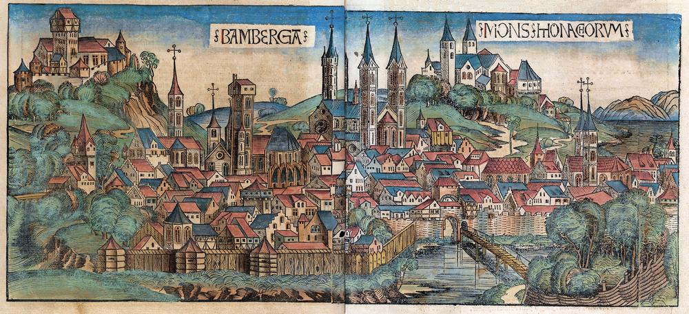 Neurenbergse Wereldkroniek: Bamberg
