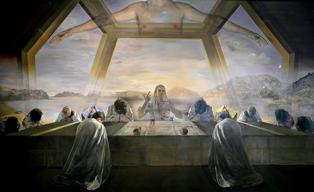cc Flickr Jorge Elías The Sacrament of the Last Supper, 1955 Salvador Dalí
