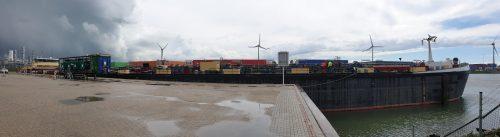 Verantwoord ontgassen in Rotterdamse haven. Foto: R. Cogels, secretaris E-VRA