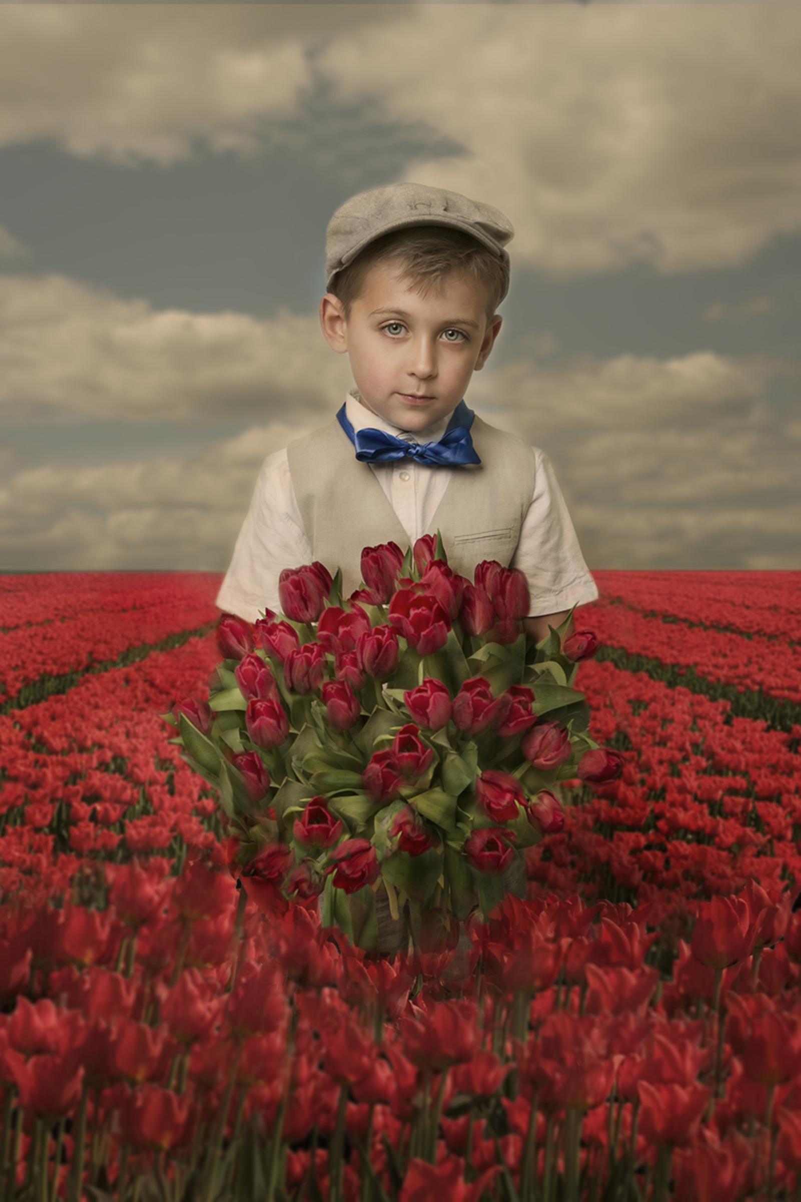 © Kaat Stieber Dutch tulips, Kunst centrum Haarlem