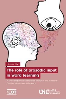 © Landelijk Onderzoekschool Taalwetenschap cover proefschrift The role of prosodic input in word learning, auteur Mengru Han