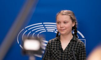 Greta Thunberg at the Parliament - European Parliament