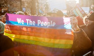 LGBT Solidarity Rally - mathiaswasik