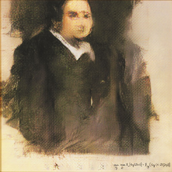 cc commons.wikimedia.org Edmond de Belamy by French collective Obvious.