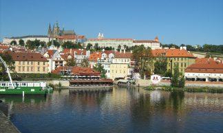 Praha - Hradčany - view at Palace Pražský Hrad - ekenitr