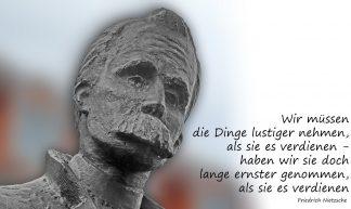 Denkmal für Friedrich Nietzsche, Naumburg - Harald Henkel