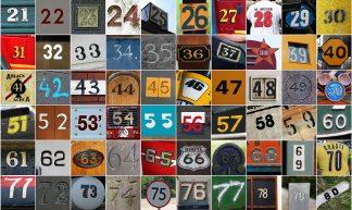 Numbers 1-100 Set 2 - Leo Reynolds