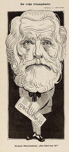 cc commons.wikimedia.org Ferdinand Domela Nieuwenhuis De vrije socialist.