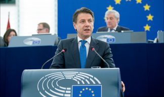 Giuseppe Conte @ the EP - European Parliament