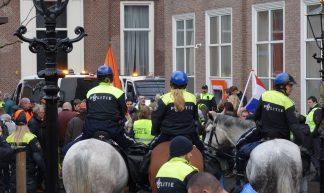 Den Haag, Tournooiveld - 'Gele hesjes' demo (20181201) - Wattman