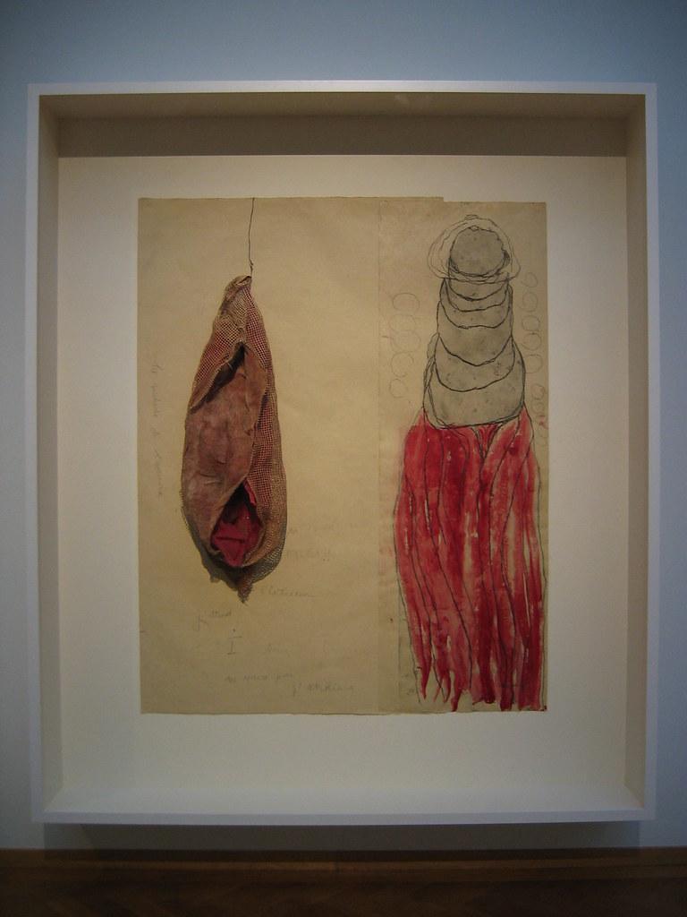 cc Flickr Minke Wagenaar photostream Louise Bourgeois - La Maladie de l'Amour (#2), 2008. 151,2 x 96,7 cm