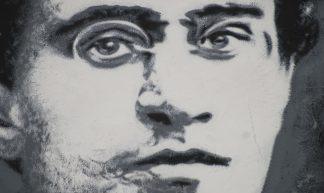 Antonio Gramsci, painted portrait _DDC0043 - thierry ehrmann
