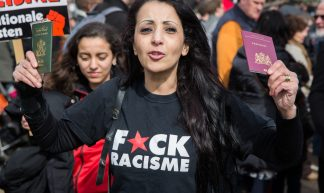 Protesting Geert Wilders - Alex Proimos