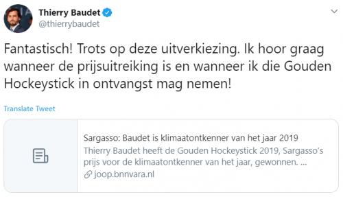 Baudet-hockeystick