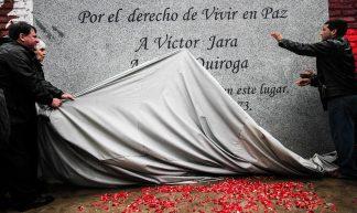 Inauguración de memorial de Víctor Jara - Ministerio de las Culturas, las Artes y el Patrimonio Gobierno de Chile