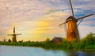 Windmills of Holland - Daryl DeHart