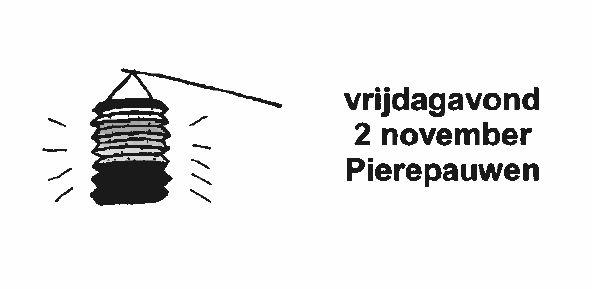 © Gemeente Vlieland, Nieuwsbrief Uit het kastje, Gemeentelijk Informatiebulletin Oost-Vlieland 27 oktober 2018