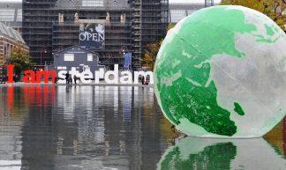 350 climate change in Amsterdam - Jos van Zetten