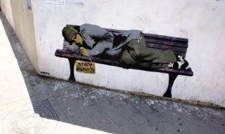 Graffiti art Tel-Aviv #13 Banksy Tel-Aviv - Shiratski