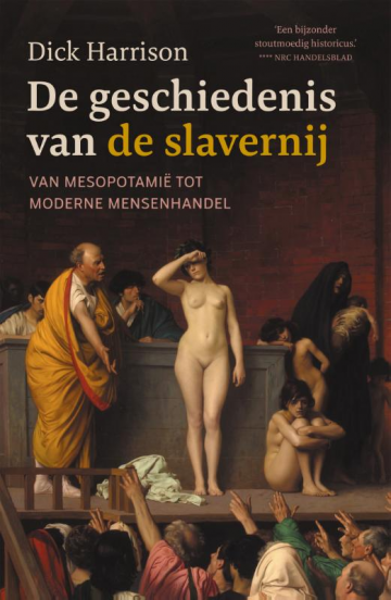 © Uitgeverij Omniboek. Cover De geschiedenis van de slavernij, door Dick Harrison