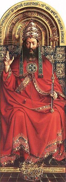 cc commons.wikimedia.org Jan van Eyck The Ghent Altarpiece God Almighty