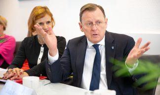 Parteivorstandssitzung nach der Landtagswahl in Thüringen - DIE LINKE