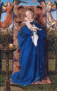 cc commons.wikimedia.org Jan van Eyck Madonna and Child at the Fountain WGA7619.jpg