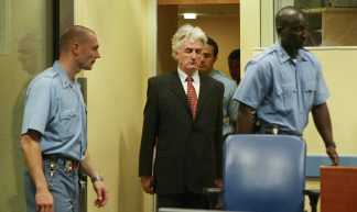 Karadžić in Tribunal custody - UN  International Criminal Tribunal for the former Yugoslavia