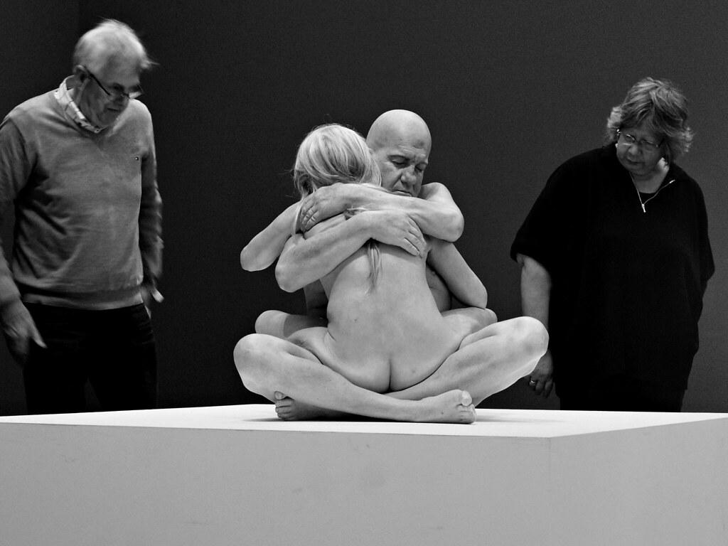 cc Flickr Dick Vos photostream Naked Art Hyperrealism, Kunsthal Rotterdam - DVSC06644b-zw