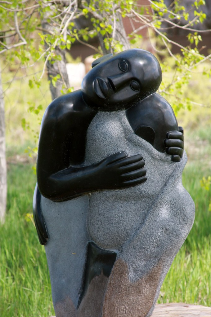 cc Flickr William Andrus photostream Comforting My Child Sylvester Mubayi (b. 1942)