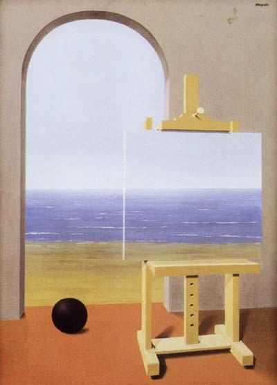 cc Flickr jaime.silva photostream La condition humaine - Magritte - 1935 - web