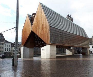 Markthal Gent- foto gemaakt door Krina van der Drift