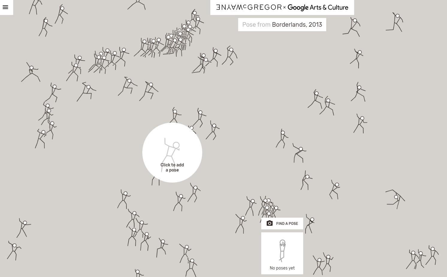 © Wayne McGregor schermafbeelding 2 van Living Archive op Google Arts & Culture