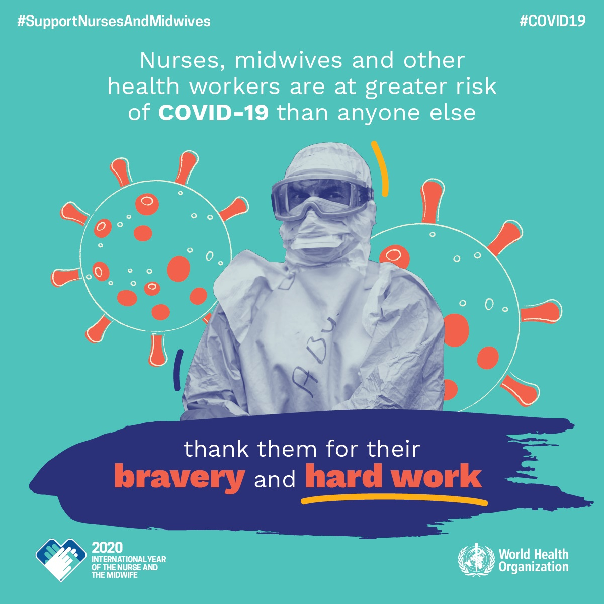 © WHO World Health Day 2020 Covid tile