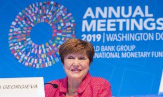 AM19 - Press Briefing - IMF Managing Director Kristalina Georgieva - International Monetary Fund