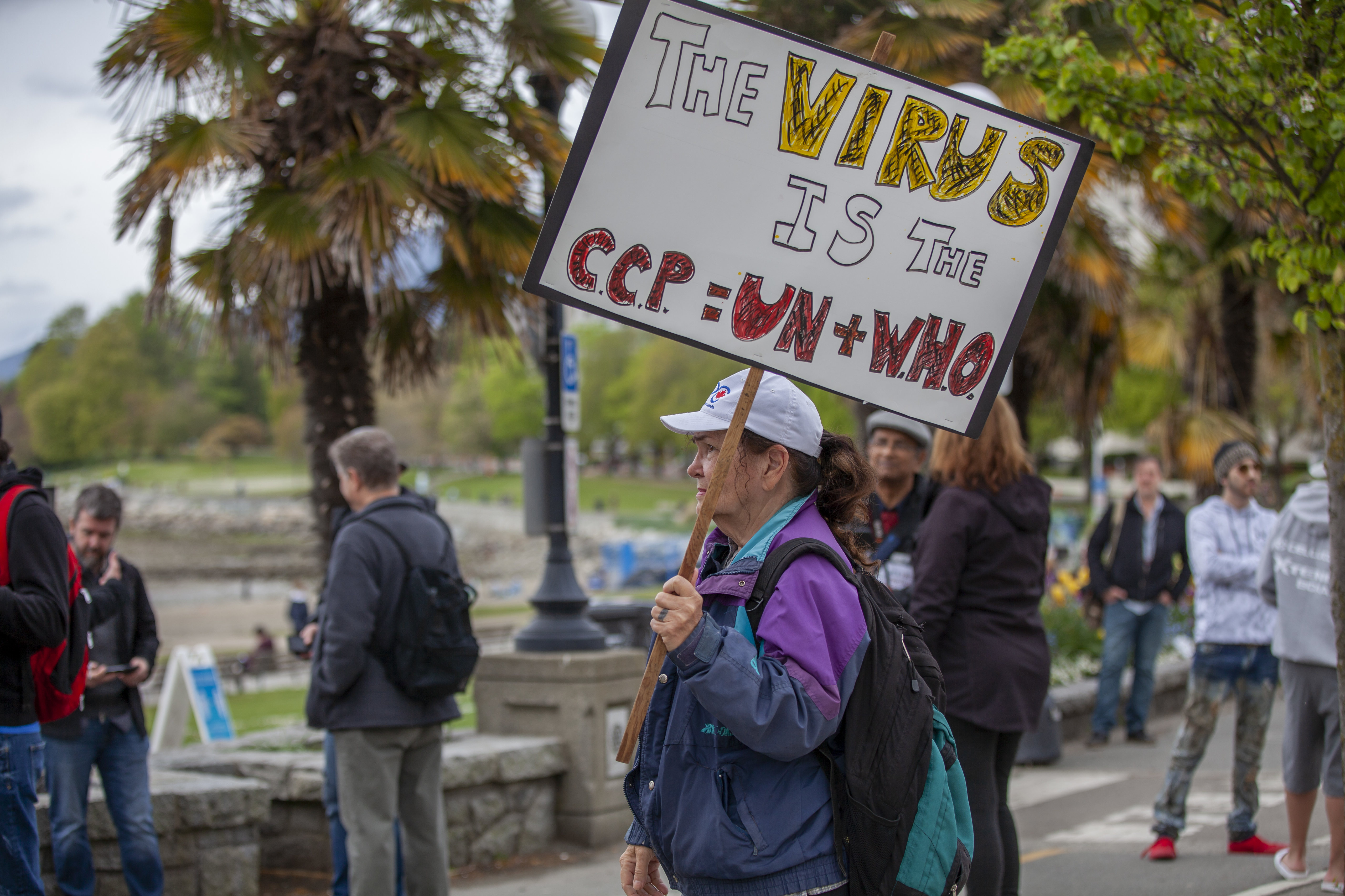 COVID-19 Vancouver's largest protest, April 26th 2020 - GoToVan
