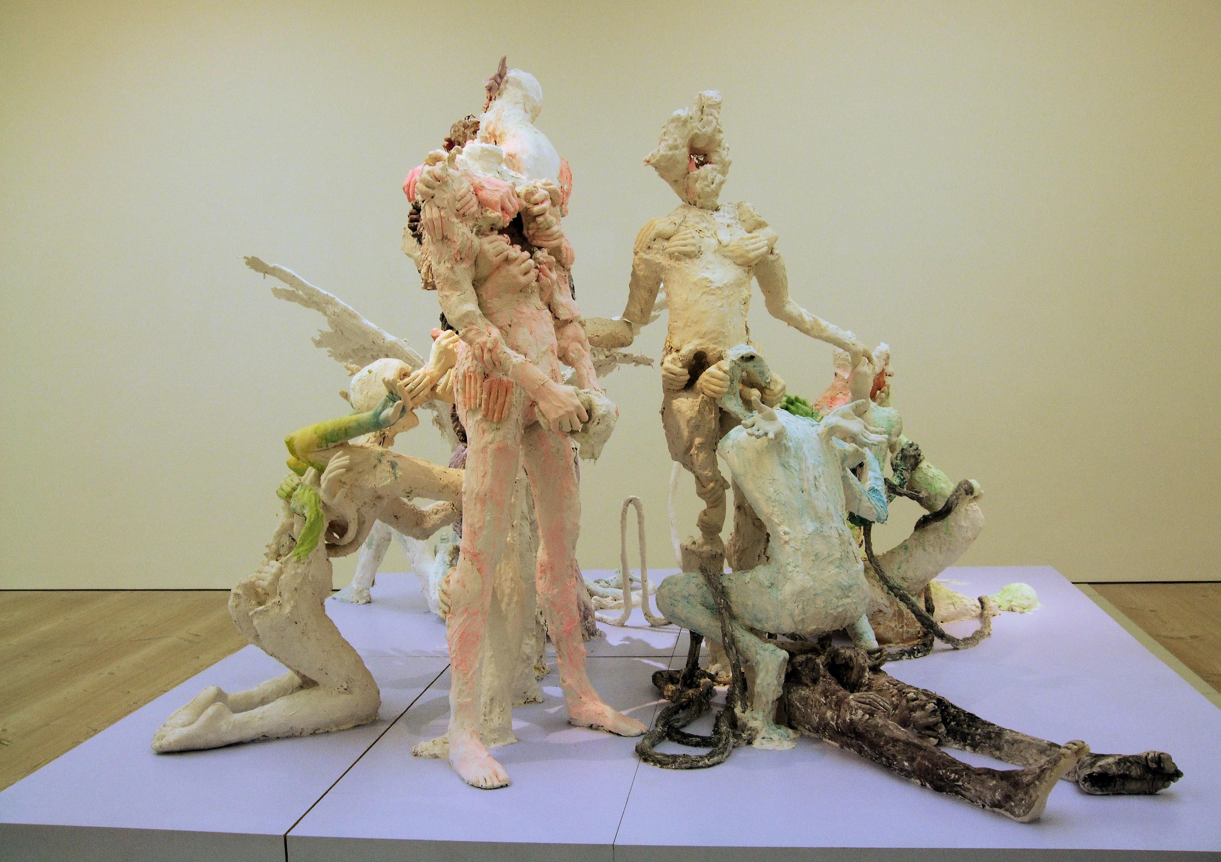 The Healers By David Altmejd, Saatchi Gallery - London. - Jim Linwood