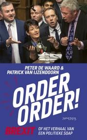 © Uitgeverij Prometheus boekomslag Order, order van Peter de Waard en Patrick van IJzendoorn