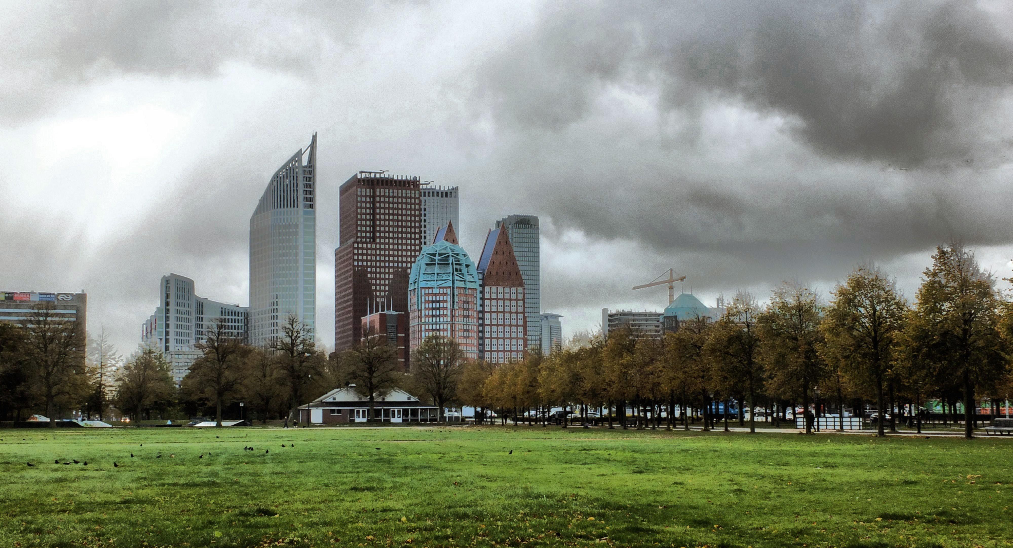 Skyline Den Haag en Malieveld - Gerard Stolk
