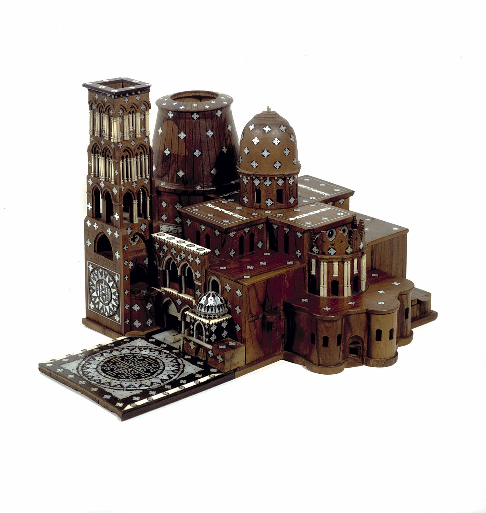 cc commons.wikimedia.org Maquette van de kerk van het Heilig Graf te Jeruzalem. Foto Museum Catharijneconvent, Utrecht, foto Ruben de Heer
