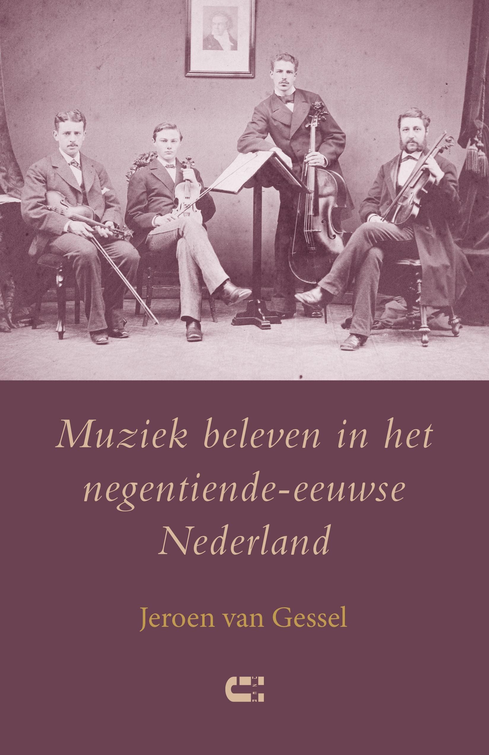 © Uitgeverij IJzer boekomslag Muziek beleven in het negentiende-eeuwse Nederland van Jeroen van Gessel