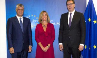 Federica Mogherini chairs the Belgrade-Pristina EU facilitated dialogue, June 2017 - European External Action Service