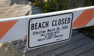 florida-covid-19-beach-closed - Florida Guidebook