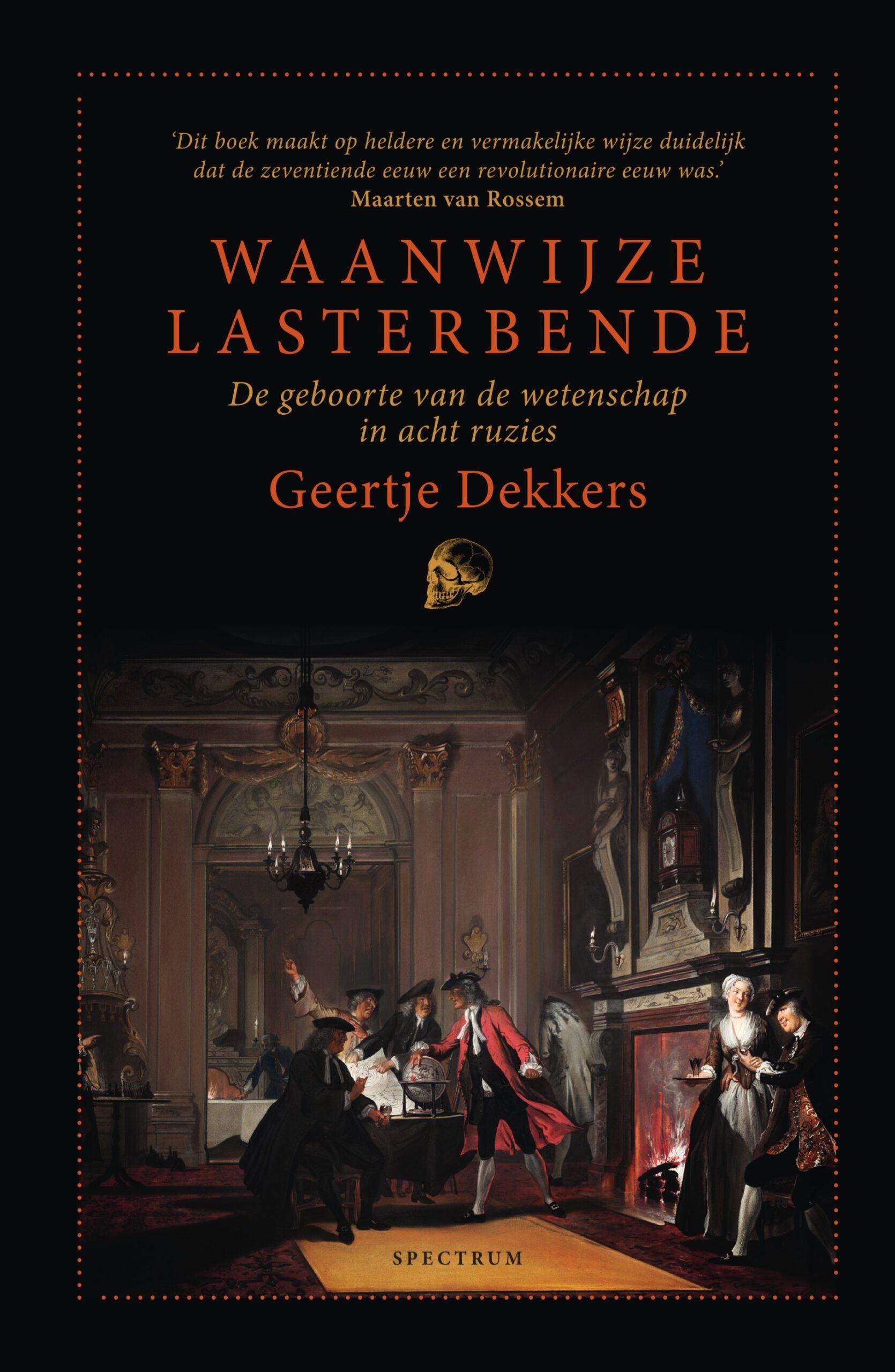 © UItgeverij Specturm boekomslag Waanwijze lasterbende van Geertje Dekkers