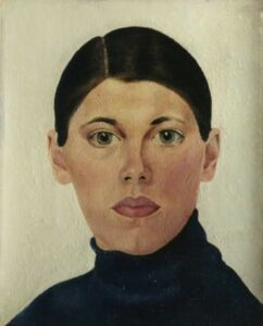 Bep Rietveld Zelfportret (1929)