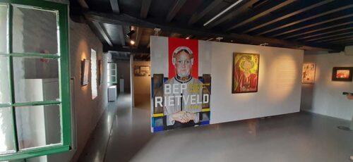 Bep Rietveld begin van de tentoonstelling © foto Wilma_Lankhorst