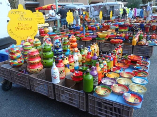 © Foto Henk 't Jong Markt overal in de Provence