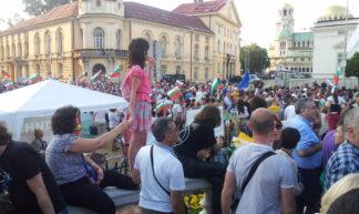 Sofia Parliament Demonstration - Jens Best